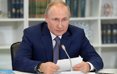 Путин: школьники - победили международных олимпиад будут получать премии в 1 млн рублей