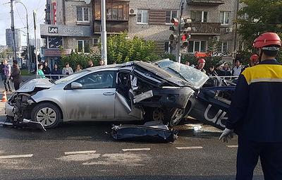Устроившего массовое ДТП в Екатеринбурге водителя заключили под стражу