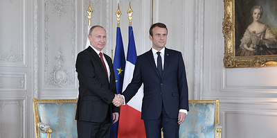 Непослушный союзник Вашингтона. Макрон принимает Путина в Брегансоне