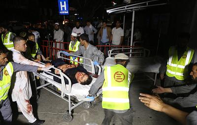 При взрыве на свадьбе в Кабуле погибли более 40 человек