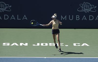 Американская теннисистка Анисимова снялась с US Open из-за смерти отца