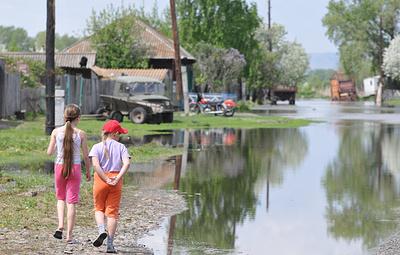 В Минусинске ввели режим повышенной готовности из-за дождей