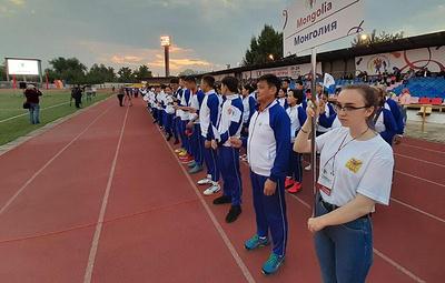 Спортсмены из регионов России, Китая и Монголии стали участниками детских игр в Чите