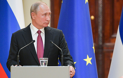 Путин заявил, что РФ будет работать над ракетными системами средней и меньшей дальности