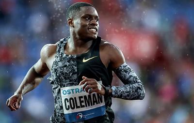 СМИ: рекордсмен мира в беге на 60 м американец Коулман пропустил три допинг-теста