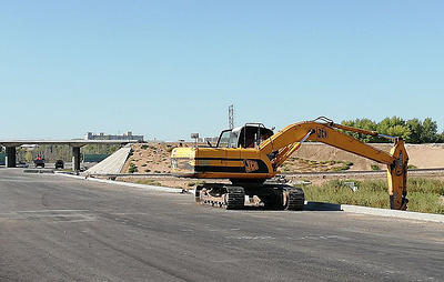 В Самаре начали возводить транспортные развязки для Фрунзенского моста