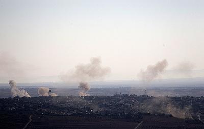 Армия Израиля сообщила, что нанесла удар по Сирии