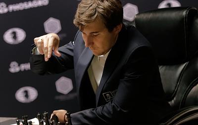 Карякин разделил с Анандом третье место по итогам шахматного супертурнира в Сент-Луисе