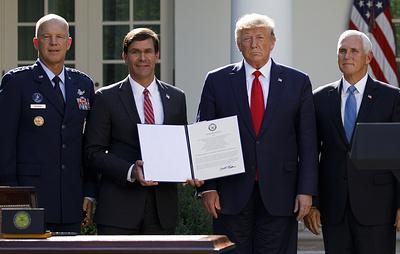 В США создали командование Космическими силами