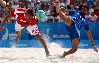 Определились соперники сборной России по группе на чемпионате мира по пляжному футболу