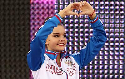 Чемпионка мира в упражнении с мячом Дина Аверина назвала ужасным ожидание своего выхода