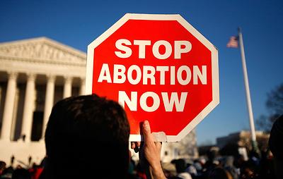 В США зафиксировали самое низкое число абортов с 1973 года