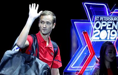 Даниил Медведев сыграет с Чоричем в финале теннисного турнира в Санкт-Петербурге