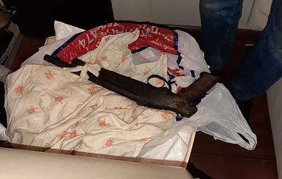 Полиция изъяла в Красноярском крае наркотики и оружие на 2 млн рублей