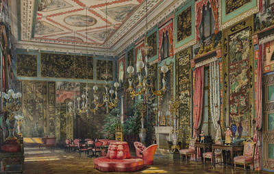В Царском Селе в Екатерининском дворце воссоздадут покои Екатерины II