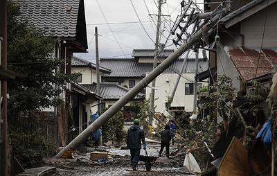 "СМИ: число жертв тайфуна ""Хагибис"" в Японии возросло до 74"