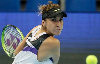 Теннисистка Бенчич вышла в финал Кубка Кремля и квалифицировалась на Итоговый турнир WTA
