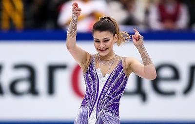 Фигуристка Самодурова победила на турнире в Минске