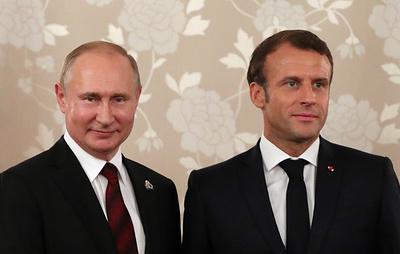 Путин и Макрон подчеркнули безальтернативность минского Комплекса мер