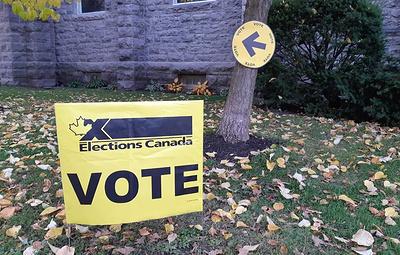 Голосование на парламентских выборах в Канаде проходит при большой явке