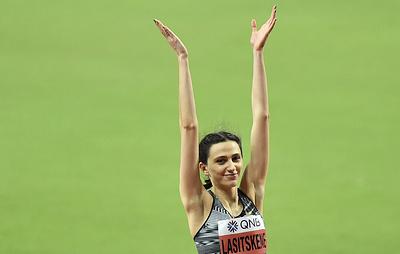 Ласицкене с рекордом турнира победила на Всемирных военных играх в прыжках в высоту