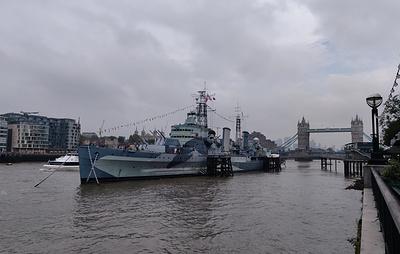 В Лондоне отметили годовщину британо-российского проекта реконструкции крейсера Belfast