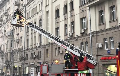 При пожаре в жилом доме в центре Москвы пострадали пять человек