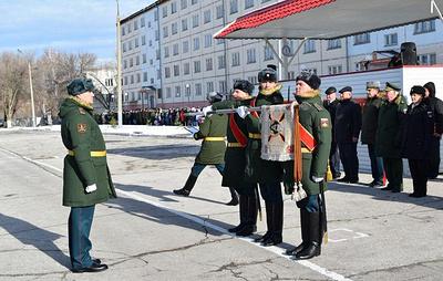 """Миротворческой бригаде России присвоили почетное наименование """"Александрийская"""""""