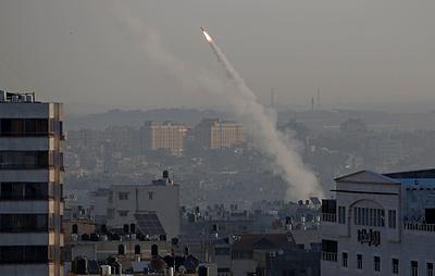 Израильская армия сообщила о запуске ракет из сектора Газа