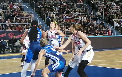 Российские баскетболистки уступили боснийкам в первом матче квалификации чемпионата Европы