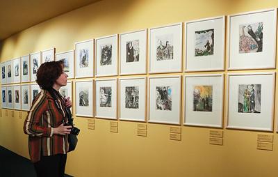 """Выставка работ Марка Шагала открылась в музее """"Новый Иерусалим"""""""