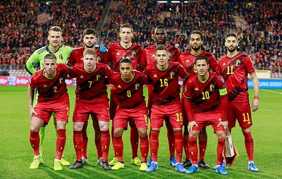 Сборная Бельгии сыграет в одной группе с командами России и Дании на Евро-2020