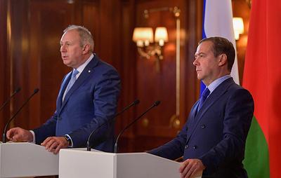 Придется обратиться к президентам: премьеры России и Белоруссии решили не все вопросы