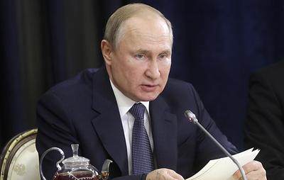 Путин заявил, что Россия не собирается прекращать транзит газа через Украину