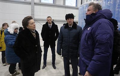 Губернатор Югры Наталья Комарова с рабочим визитом посетила Сургутский район