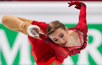 Усачева довольна попаданием на пьедестал в финале юниорского Гран-при по фигурному катанию