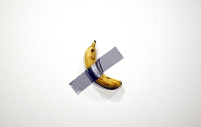 СМИ: художник съел проданный за $120 тыс. банан