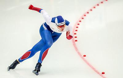 Российские конькобежцы завоевали десять медалей на этапе Кубка мира в Нур-Султане