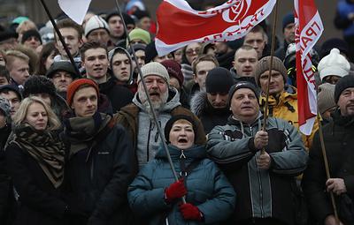 В Минске завершилась двухдневная акция противников интеграции Белоруссии с Россией