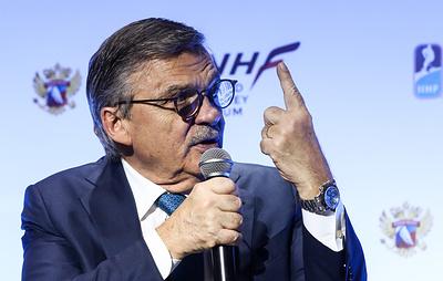 IIHF оценит последствия санкций WADA в отношении российского спорта