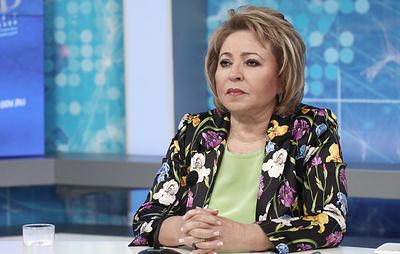 Матвиенко: просьба Левченко об отставке связана с оценкой собственных действий в Тулуне