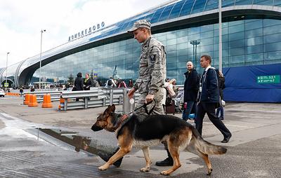 Все аэропорты Москвы проверяют из-за анонимного сообщения об угрозе взрывов
