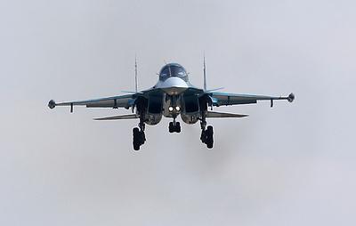 Экипажи Су-34 и Су-24 выполнили дозаправку в воздухе на учениях в Челябинской области