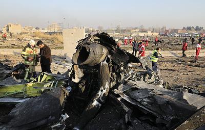 Крупные авиакатастрофы в Иране