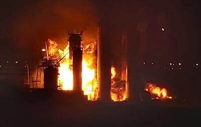 Источник: причиной пожара на НПЗ в Ухте стал технологический взрыв