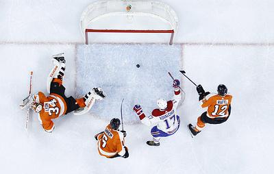 """""""Монреаль"""" одержал победу над """"Филадельфией"""" в матче НХЛ. Ковальчук забросил две шайбы"""