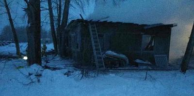 Пожар в поселке в Томской области. Главное