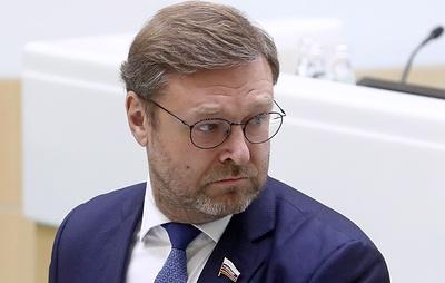 Косачев: реакция Запада на изменения Конституции обретает черты вмешательства в дела РФ