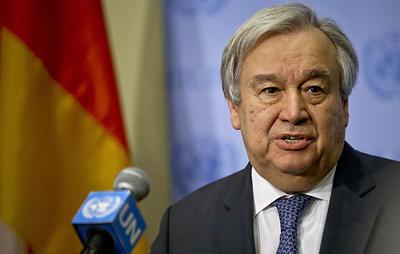 Гутерриш: СБ ООН должен принять резолюцию в поддержку договоренностей конференции по Ливии