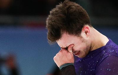 Фигурист Алиев заявил, что его душа плачет от счастья после победы на чемпионате Европы